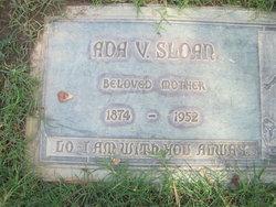 Ada Virginia <I>Hufstedler</I> Sloan