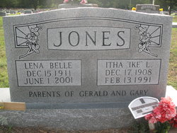 "Itha L ""Ike"" Jones"