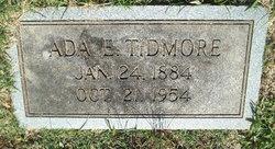 Ada Ethel <I>Baker</I> Tidmore