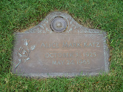 Alice <I>Mark</I> Katz