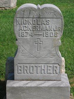 Nikolas Ackerman, Jr