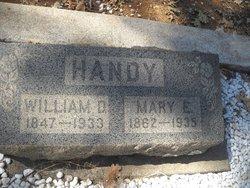 Mary E. <I>Shea</I> Handy
