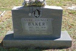 Sallie <I>Younger</I> Baker