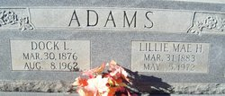 Lillie Mae Adams