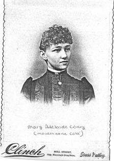 "Mary Adelaide ""Ida"" <I>Cota</I> Cooley"