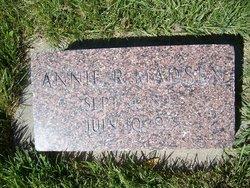 Annie Elizabeth <I>Remund</I> Madsen