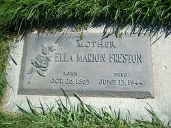 Marion Ella <I>Wheelock</I> Freston