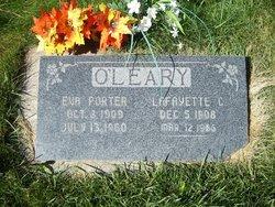 Eva <I>Porter</I> O'Leary