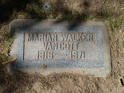 Marion <I>Walker</I> Van Cott