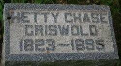 Hetty Ann <I>Griswold</I> Chase