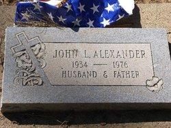 John L Alexander