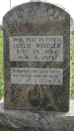 Emelie E <I>Reifel</I> Windler