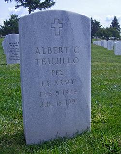 PFC Albert C Trujillo