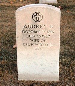 Audrey B Detlef