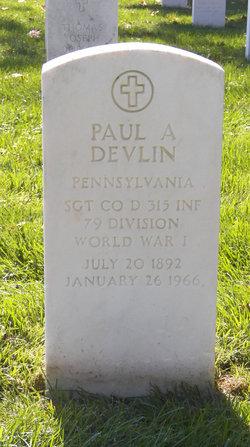 Paul A Devlin