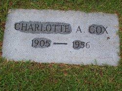 Charlotte Alma <I>Boyd</I> Cox