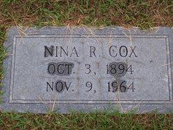 Nina Katie <I>Russ</I> Cox