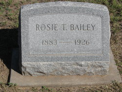 "Rosa T. ""Rosie"" <I>Harris</I> Bailey"