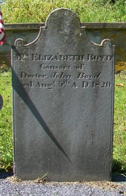 Elizabeth <I>Doak</I> Boyd