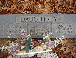 "Anna May ""Annie"" <I>Cooper</I> Daughtrey"