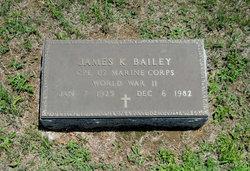 James K Bailey