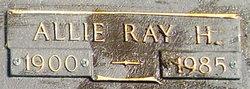 Allie Ray <I>Horne</I> Bruce
