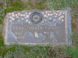 Ruby <I>Tucker</I> Priddy