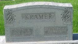 Gertrude E Kramer