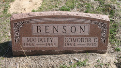 Comodor C. Benson