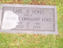 Carl H Lewis, Sr