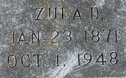 Zula D <I>Rigsby</I> Morgeson