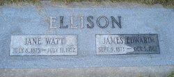 Jane <I>Watt</I> Ellison