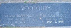 "Beulah Larkins ""Bubbles"" <I>Blood</I> Woodbury"