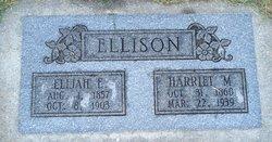 Harriet Ellen <I>Morgan</I> Ellison