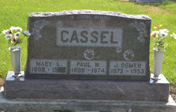 Mary <I>Kline</I> Cassel