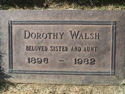 Dorothy <I>Winterhalter</I> Walsh