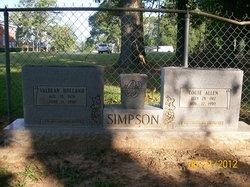 Valdean <I>Holland</I> Simpson