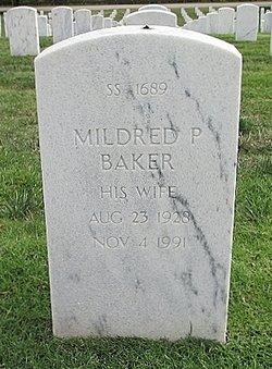Mildred Evelyn <I>Parrish</I> Baker