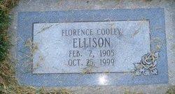 Florence Katherine <I>Cooley</I> Ellison