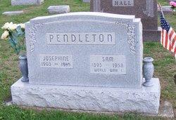 Josephine <I>Hall</I> Pendleton