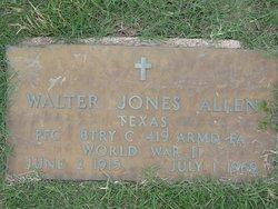 Walter Jones Allen