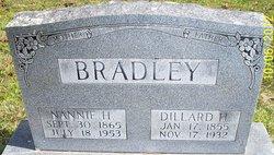 "Nancy ""Nannie"" <I>Hieronymus</I> Bradley"