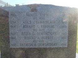 Alice <I>Chamberlain</I> Kerouac