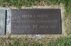 Edith I. <I>Crisp</I> Ament