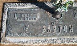 """Perle Elizabeth """"Lizzie"""" <I>Welch</I> Barton"""