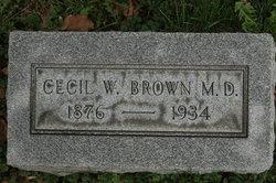 Dr Cecil W. Brown