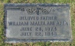 William Malulani Ahia