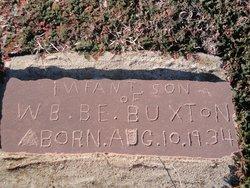 Infant Son Buxton