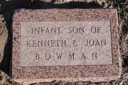 Infant Son Bowman