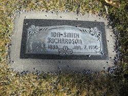 Ida <I>Smith</I> Richardson